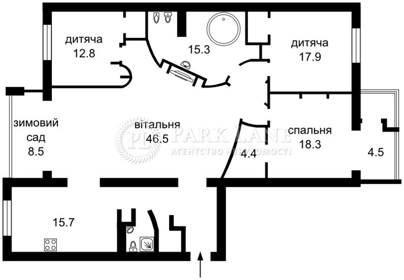Квартира ул. Драгомирова Михаила, 4, Киев, J-24376 - Фото 2