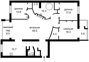 Квартира J-24376, Драгомирова Михаила, 4, Киев - Фото 5