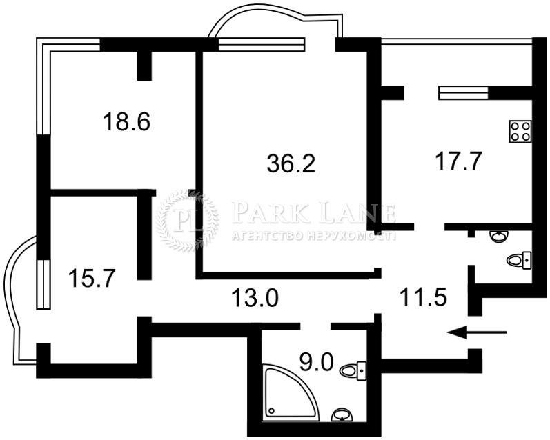 Квартира ул. Мельникова, 18б, Киев, R-10787 - Фото 2
