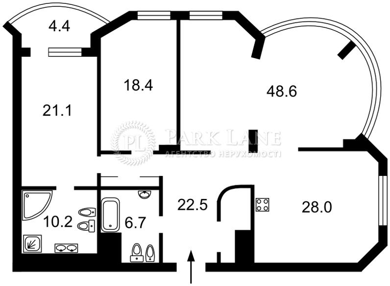 Квартира N-18621, Тимошенко Маршала, 21корп.2, Киев - Фото 4