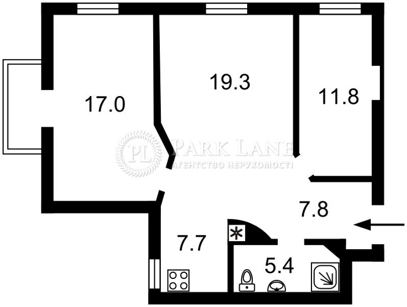 Квартира ул. Лютеранская, 8, Киев, K-25279 - Фото 2