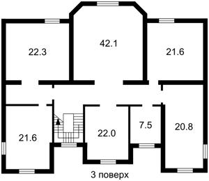 Дом J-24498, Козин (Конча-Заспа) - Фото 16