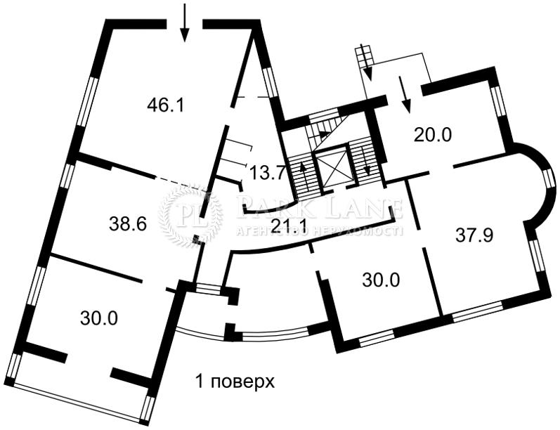 Офіс, Лук'янівський пров., Київ, B-95649 - Фото 3