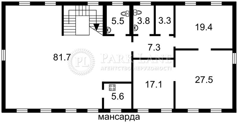 Окремо розташована будівля, Андріївський узвіз, Київ, J-24680 - Фото 6