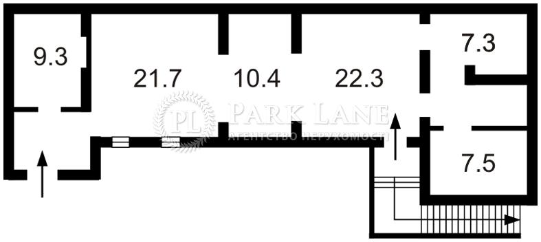 Нежилое помещение, ул. Большая Васильковская, Киев, Z-68426 - Фото 2