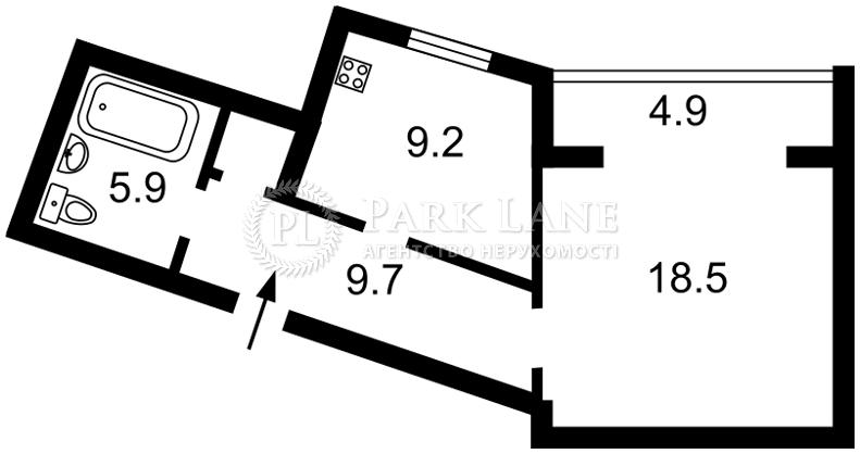 Квартира ул. Княжий Затон, 9, Киев, Z-484226 - Фото 2