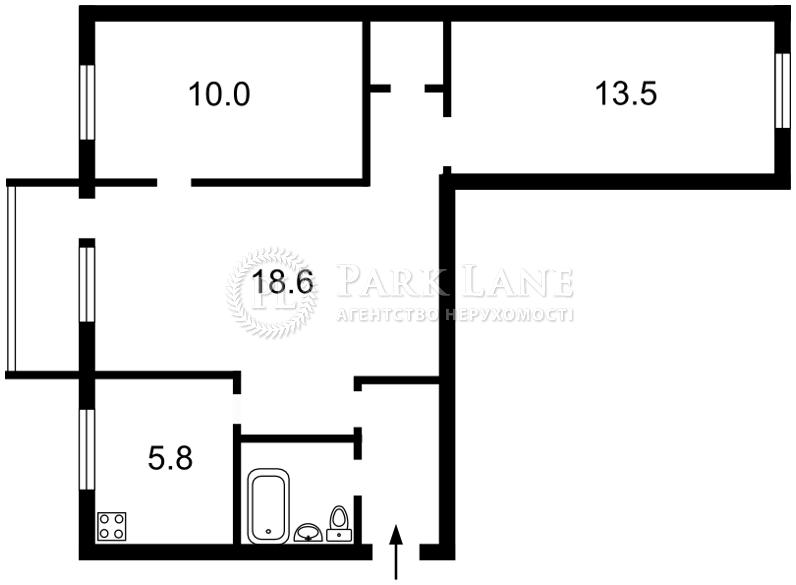 Квартира ул. Сокальская, 11, Киев, Z-82877 - Фото 2