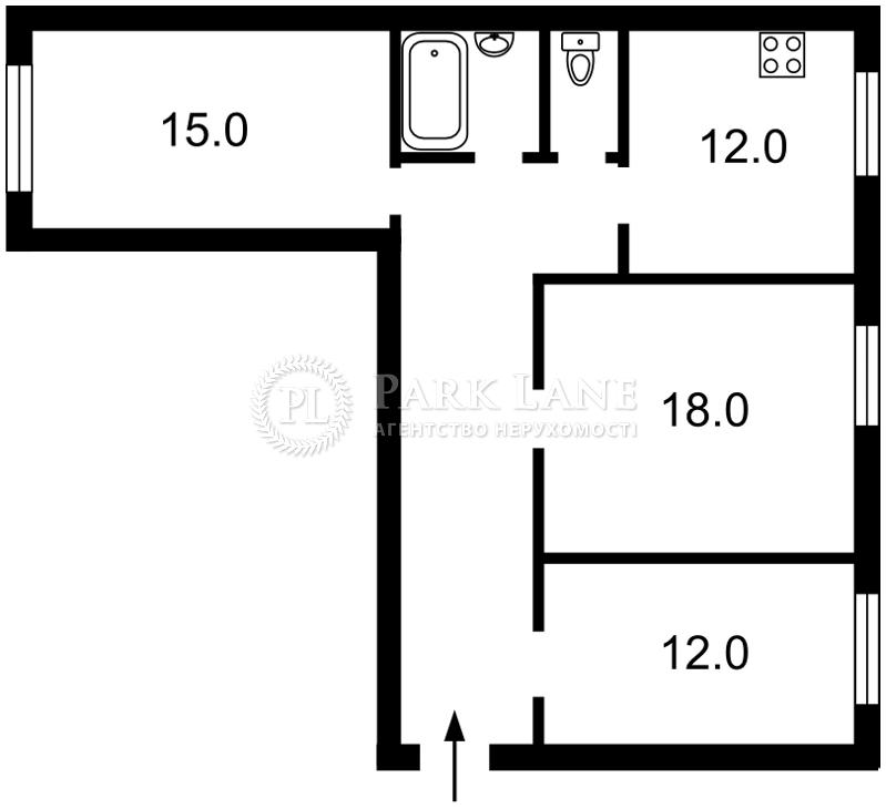 Квартира ул. Смоленская, 3, Киев, Q-2171 - Фото 2