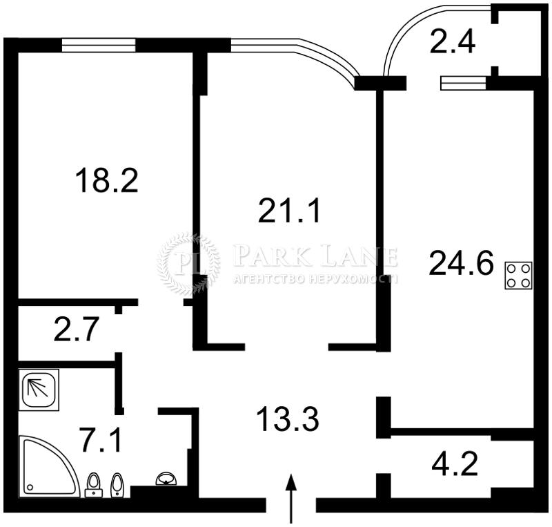 Квартира Z-223074, Лабораторный пер., 6, Киев - Фото 6
