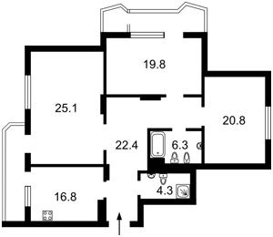 Квартира J-24576, Кудряшова, 16, Киев - Фото 6