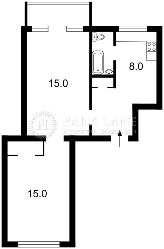 Квартира Шевченко Тараса бульв., 2, Киев, R-12494 - Фото 2