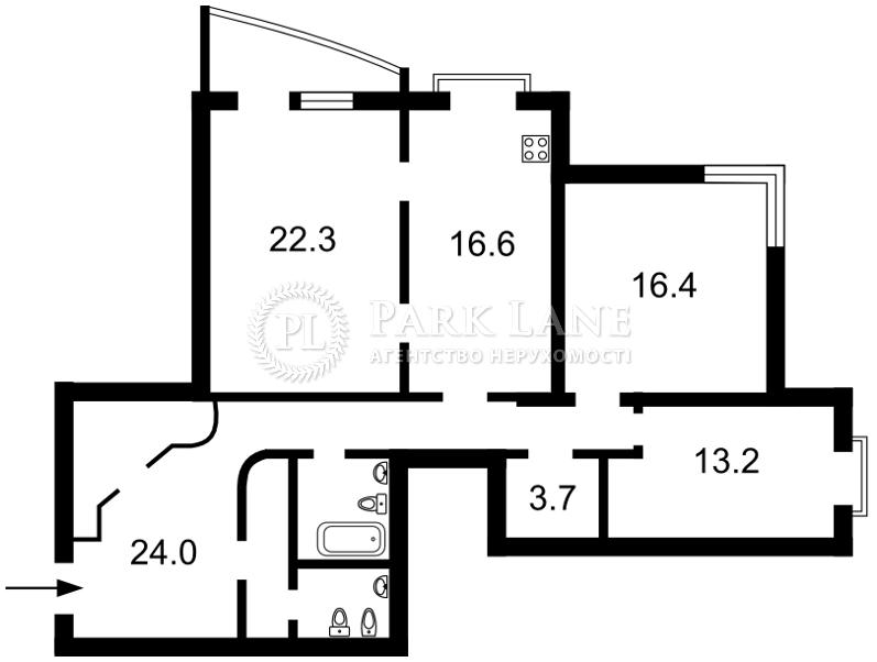 Квартира B-95668, Панаса Мирного, 28а, Киев - Фото 6