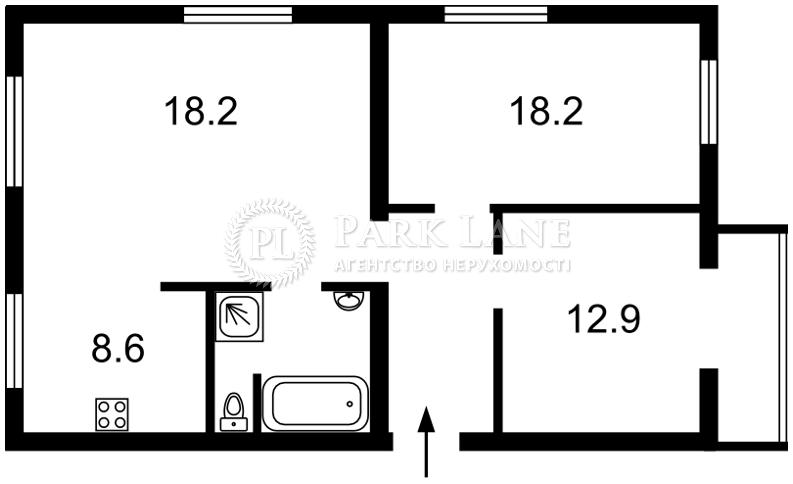 Квартира ул. Почайнинская, 44, Киев, B-95787 - Фото 2