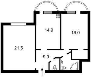 Квартира R-12910, Феодосийский пер., 14, Киев - Фото 3