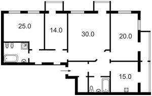 Квартира I-14389, Хмельницкого Богдана, 61, Киев - Фото 4
