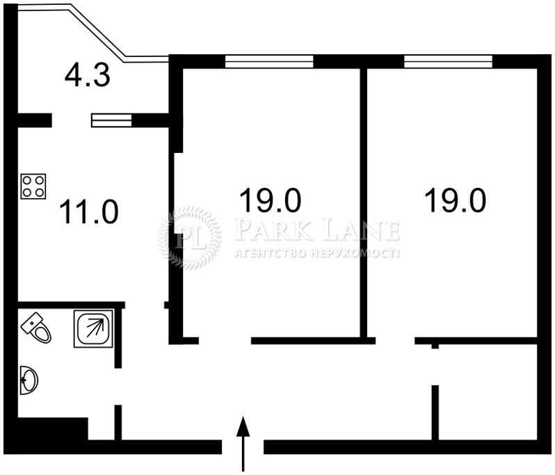 Квартира вул. Сікорського Ігоря (Танкова), 4в, Київ, Z-190539 - Фото 2