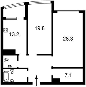 Квартира Z-90277, Парково-Сырецкая (Шамрыло Тимофея), 4в, Киев - Фото 7