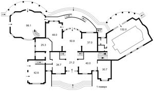 Дом J-19810, Старокиевская, Козин (Конча-Заспа) - Фото 6