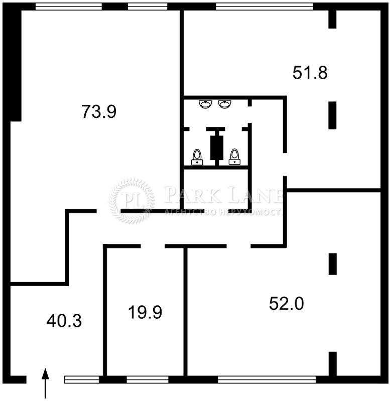 Нежилое помещение, Z-231368, Коновальца Евгения (Щорса), Киев - Фото 5