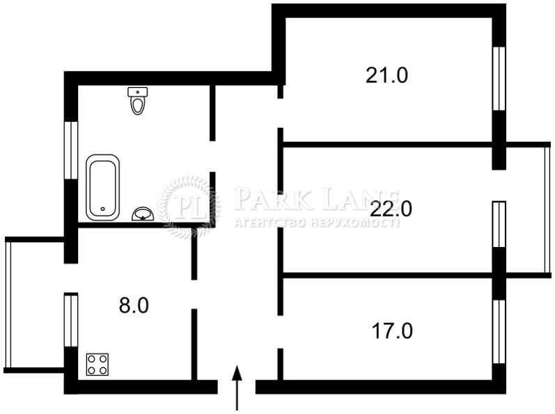 Квартира ул. Ломоносова, 71д, Киев, R-12838 - Фото 2