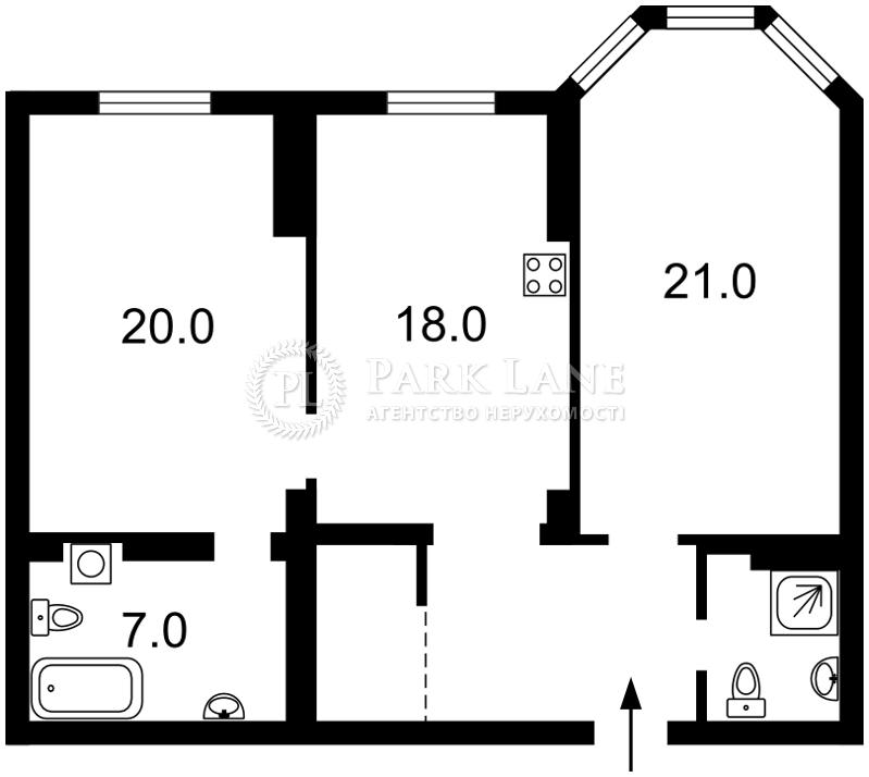 Квартира ул. Полтавская, 10, Киев, Z-160600 - Фото 2