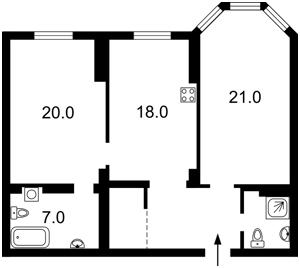 Квартира Z-160600, Полтавская, 10, Киев - Фото 7