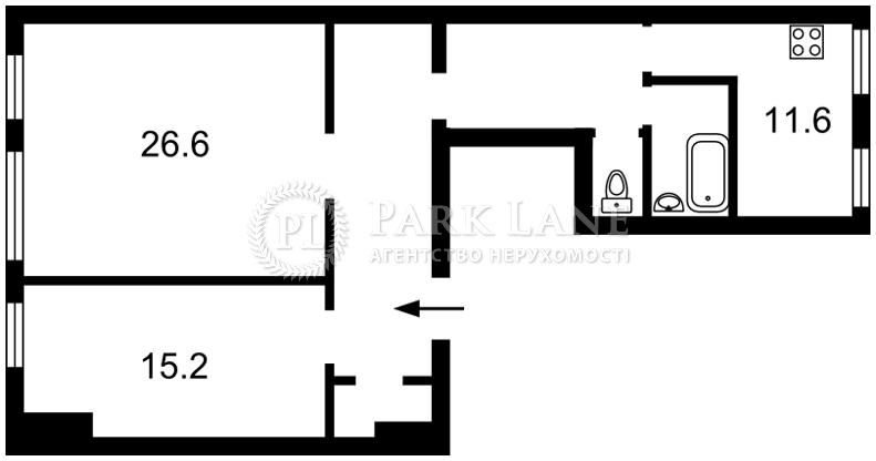 Квартира ул. Городецкого Архитектора, 9, Киев, N-10157 - Фото 2