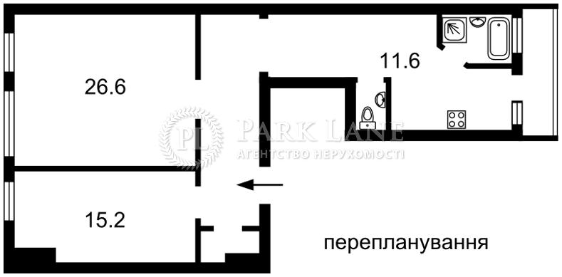 Квартира ул. Городецкого Архитектора, 9, Киев, N-10157 - Фото 3