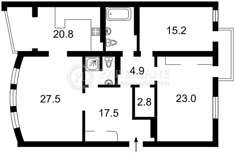 Квартира ул. Кирилловская (Фрунзе), 14/18, Киев, B-96014 - Фото 2