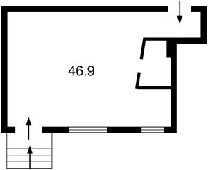 Нежилое помещение, R-14095, Воздухофлотский просп., Киев - Фото 3