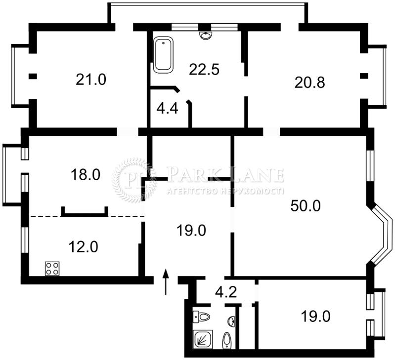 Квартира ул. Ирининская, 5/24, Киев, K-25812 - Фото 2