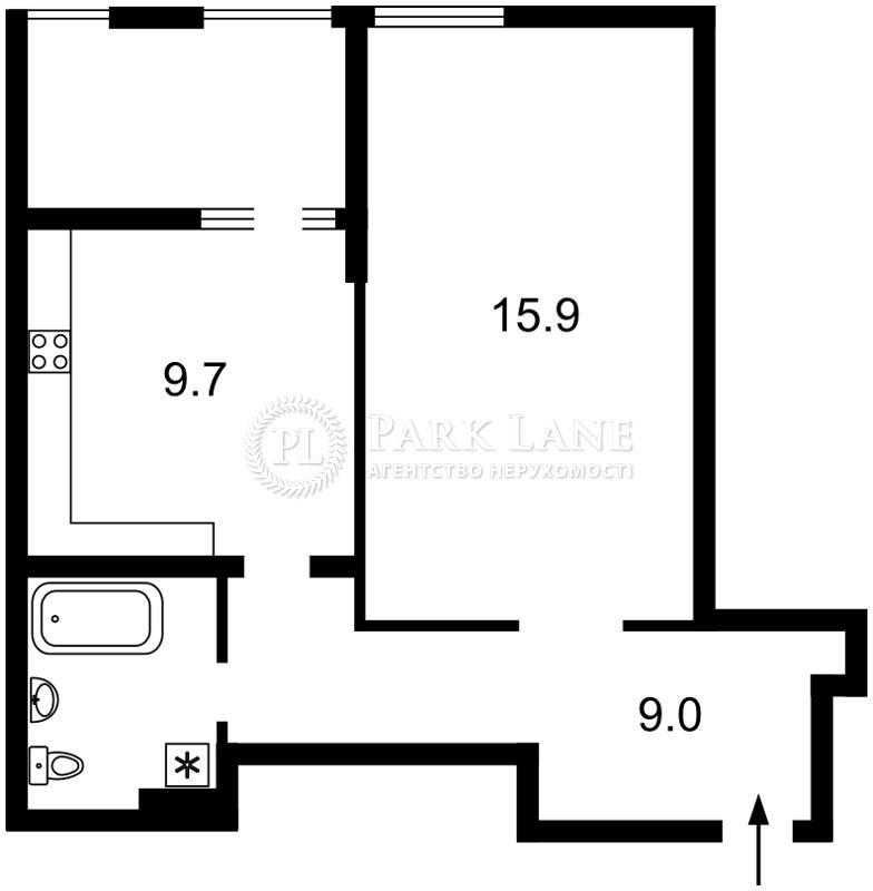 Квартира вул. Регенераторна, 4 корпус 6, Київ, R-14488 - Фото 2