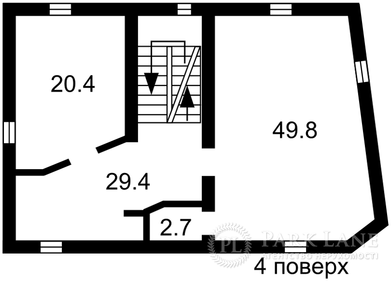 Отдельно стоящее здание, ул. Боричев Ток, Киев, J-25049 - Фото 5