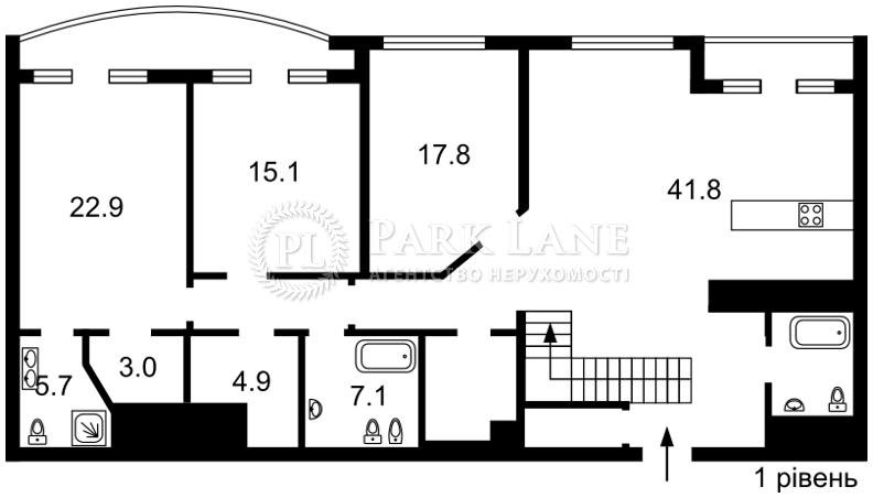 Квартира ул. Жилянская, 59, Киев, J-23554 - Фото 2