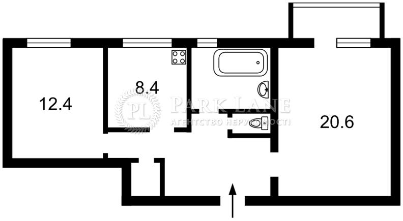 Квартира Леси Украинки бульв., 28а, Киев, Z-1115143 - Фото 2