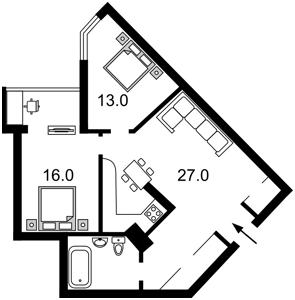 Квартира R-2793, Краснопольская, 2г, Киев - Фото 4