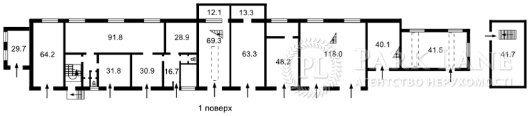 Нежитлове приміщення, вул. Федорова Івана, Київ, H-40149 - Фото 1