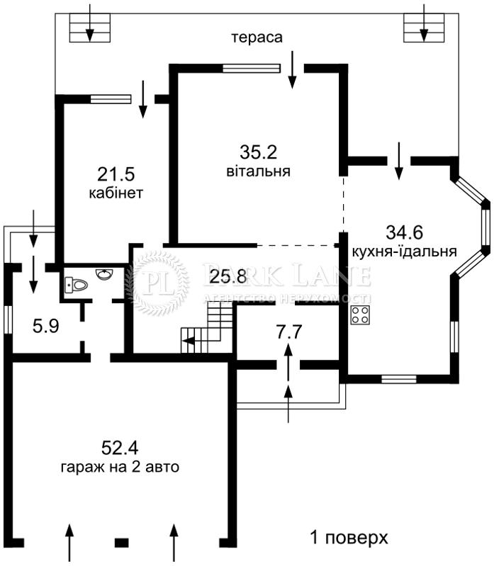 Дом ул. Вильямса Академика, Киев, L-11575 - Фото 2