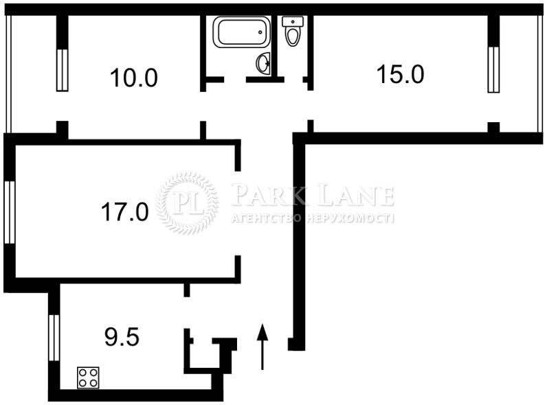 Квартира ул. Регенераторная, 4 корпус 11, Киев, Z-271760 - Фото 2