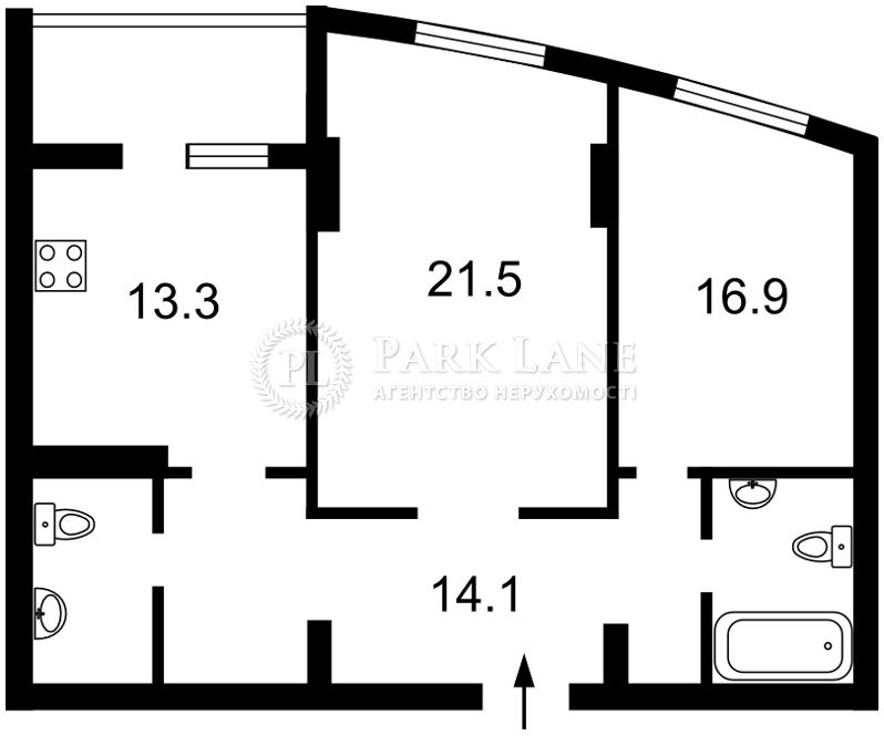 Квартира Победы просп., 121а, Киев, K-14044 - Фото 2