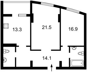 Квартира K-14044, Победы просп., 121а, Киев - Фото 3