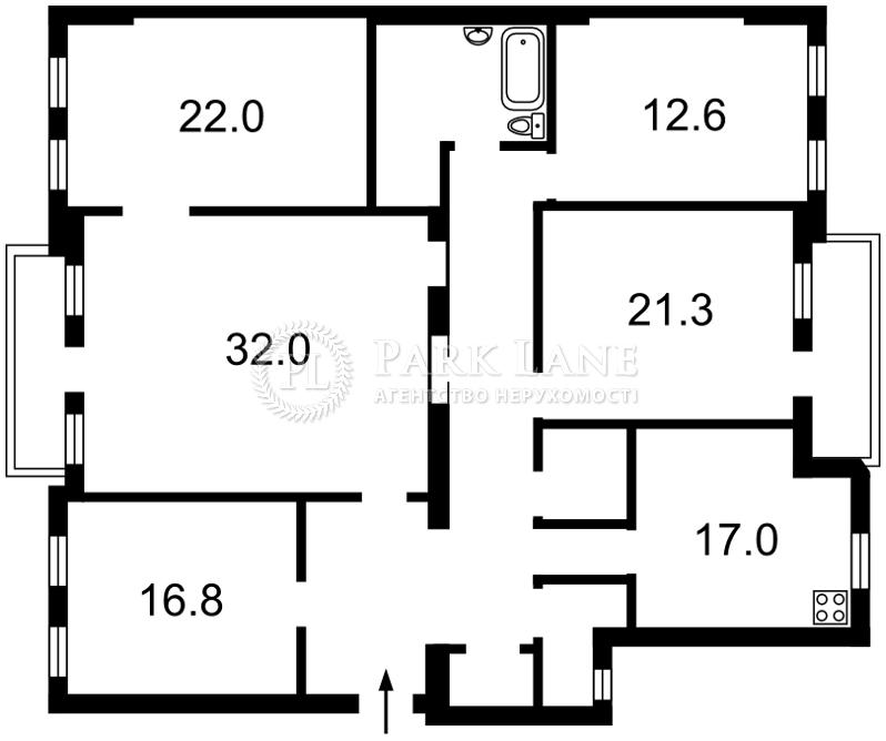 Квартира ул. Большая Житомирская, 8/14, Киев, R-5027 - Фото 2