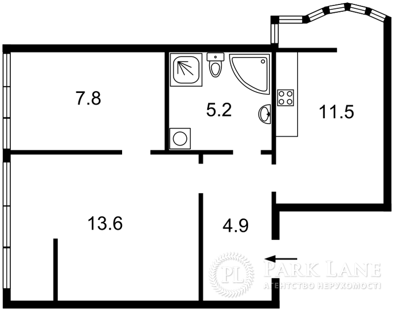 Квартира ул. Жилянская, 118, Киев, Z-93923 - Фото 2