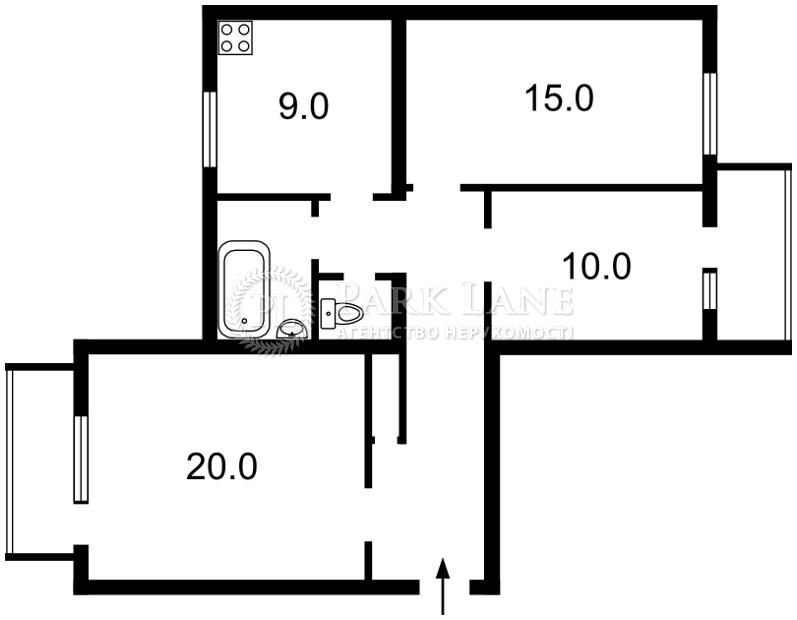 Квартира Z-1892317, Шелковичная, 48, Киев - Фото 4
