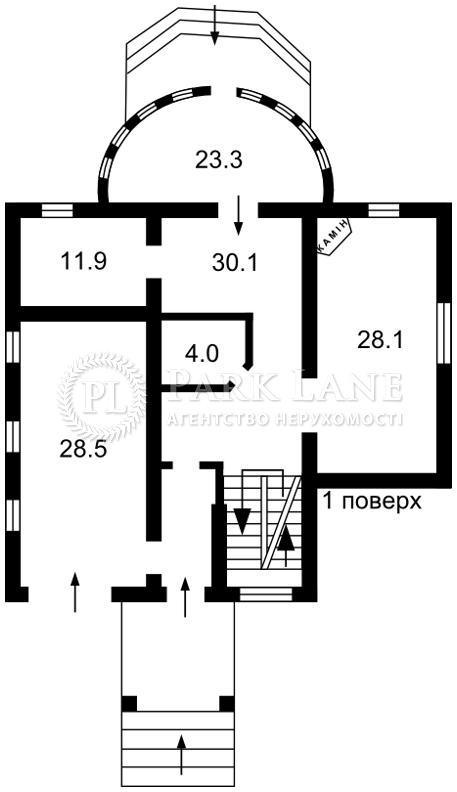 Дом Белогородка, Z-219575 - Фото 3