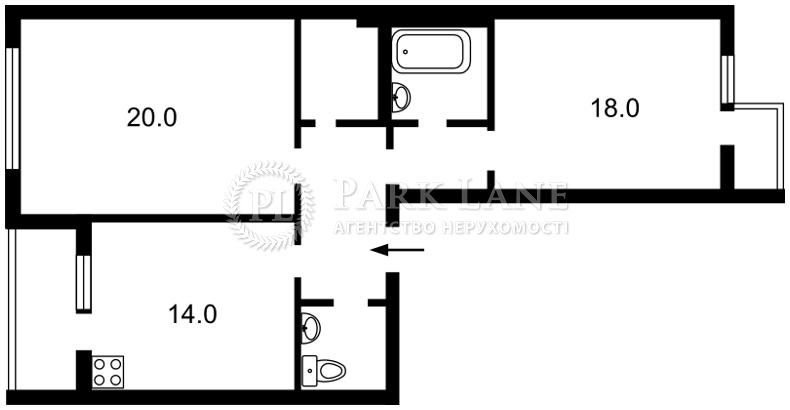 Квартира Z-1060790, Борщаговская, 152а, Киев - Фото 6