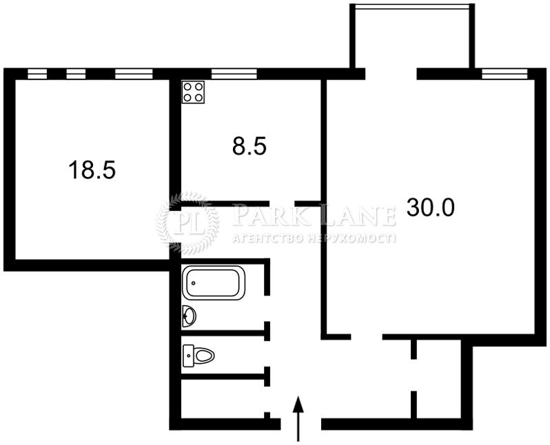 Квартира вул. Крамського Івана, 9, Київ, Z-1228616 - Фото 2