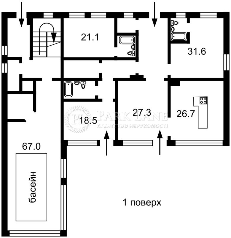 Дом ул. Старокиевская, Козин (Конча-Заспа), K-23264 - Фото 2