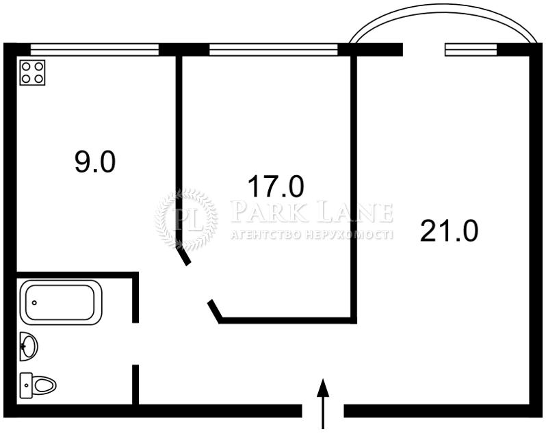 Квартира K-26065, Рогнединская, 5/14, Киев - Фото 3