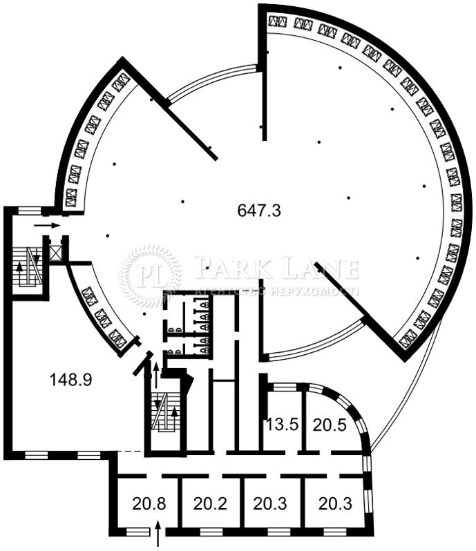 Нежилое помещение, Z-1575085, Гетьмана Вадима (Индустриальная), Киев - Фото 5